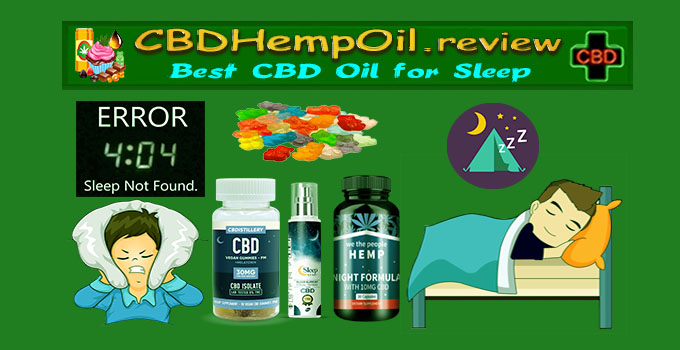 best CBD oil for insomnia
