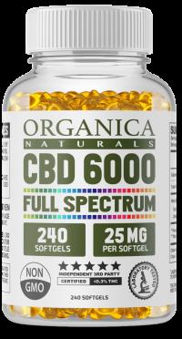 Organic CBD Capsules