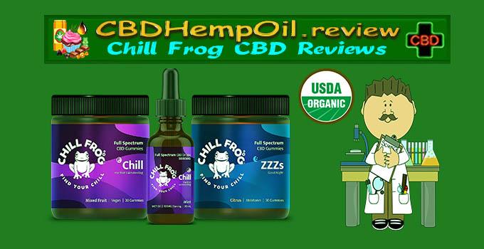 chill frog organic cbd